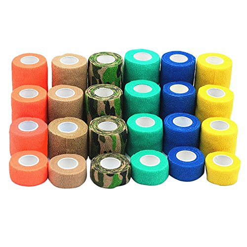 PanDaDa Pet Verband Erste-Hilfe-Bandagen Atmungsaktive rutschfeste Einweg selbstklebende Rap Tape (Dressing Aid-stick)