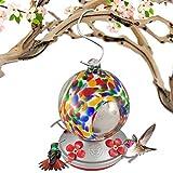 Grateful Gnome Kolibri Feeder-Maurerhammer-Globe Stil Flowered Globe
