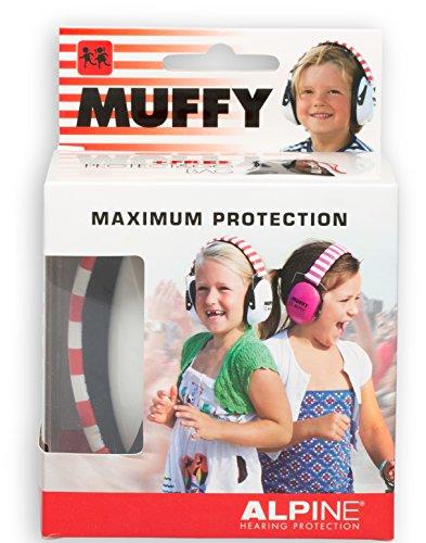 Alpine Muffy - Kinder Gehörschutz - Kapselgehörschutz - Weiß, 1er Pack - 4