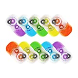 #3: FULLMARK CORRECTION TAPE MODEL E, 5mm x 6m Each, 10-pack ( Assorted color )