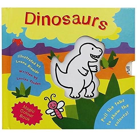 Dinosaur Magic Colour Book