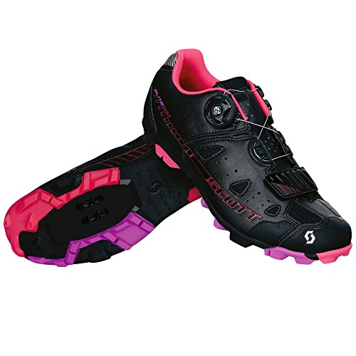 Scott MTB Elite Boa Damen Fahrrad Schuhe schwarz/pink 2015: Größe: 40