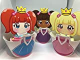 12 x Princess Rainbow Birthday party Cup cake Wrapper & topper Mix Pack