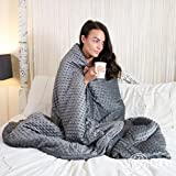 ISAAC Weighted Blanket For Adults With Free Washable Cover & Carry Bag |