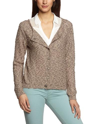 Cream Damen Bluse Turnable Pullover, Sternchen, Gr. 36 (Herstellergröße: S), Braun (Mushroom copper)