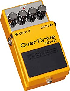 BOSS OD-1X OVERDRIVE Electric guitar effects Distortion - overdrive - fuzz...