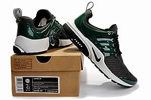 Nike Air Presto-Gris foncé/vert Taille 9 Baskets pour homme Pointure Shox chaussures