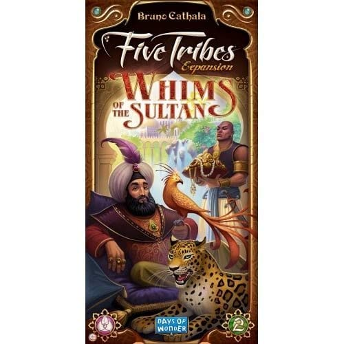 Days of Wonder dow8404 Fünf Stämme Launen der Sultan Expansion Board Game