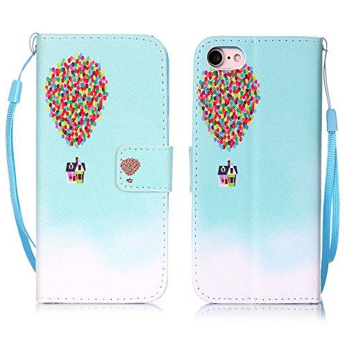 Apple iphone 7plus case XFAY HX-439 Portafoglio accessories elegante Bookstyle PU Pelle Case Cover Protettiva Flip Portafoglio Custodia Protezione Caso con Supporto di Stand / Carte Slot / Chiusura/ l colore-12