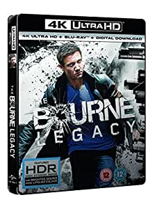 The Bourne Legacy (4K UHD Blu-ray + Blu-ray + Digital Download) [2012]