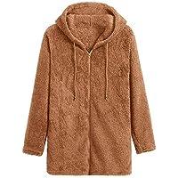 Escudo de Las señoras Outwear Chaqueta Parka Moda para Mujer Otoño Manga Larga Fleece Cremallera Mosca