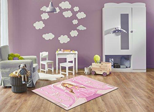 ... Druck/Design Prinzessin | Größe: 160x230 Cm   Qualität, Design, Modern  Zu Einem Hammerpreis! Für Kinderzimmer, Wohnzimmer, Flur, Schlafzimmer  Geeignet!