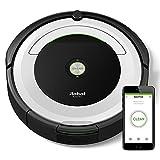 iRobot Roomba 691 Robot Aspirador, Alto Rendimiento de Limpieza, Sensores de Suciedad Dirt Detect, Todo Tipo de Suelos, Atrapa el Pelo de Mascotas, WiFi, Blanco
