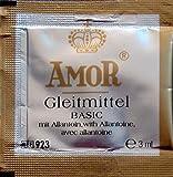 Amor Gleitstoff Basic 100x3ml wasserbasiertes Gleitgel