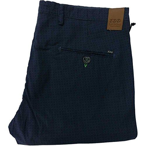 Eredi del duca pantalone 1003 uomo - Elasticizzato 97% cotone 3% elastane, made in italy, Blu (54)