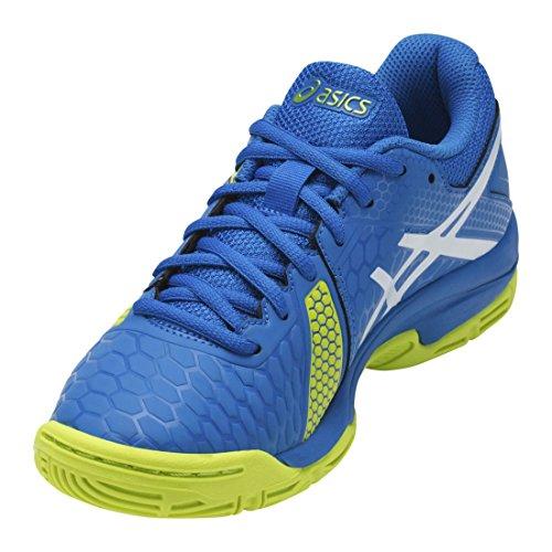 Asics Unisex Baby Gel-Blast 7 Gs American Handball Schuhe 4377 DIRECTOIRE BLUE/ENERGY GR