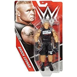 WWE BASE SERIE 75 wrestling action figure - BROCK LESNAR INDOSSA SUPLEX Città Maglietta Raw BOX