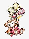 """Fensterbild """"Teddy"""" Plauener Spitze® 5164100 Kinderzimmer Dekoration"""