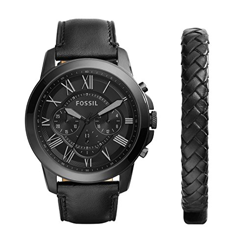 Fossil Herren-Uhren FS5147SET