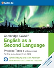 Practice tests for IGCSE English as a second language. With answers. Per le Scuole superiori. Con espansione online. Con 2 CD-Audio: 1