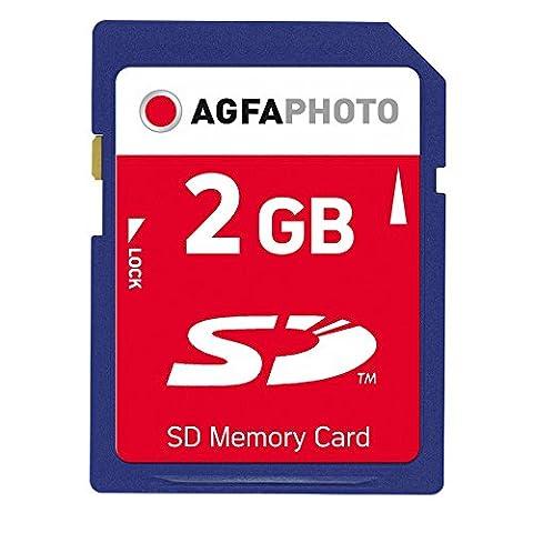 AgfaPhoto Secure Digital (SD) 2 GB Duo Speicherkarte