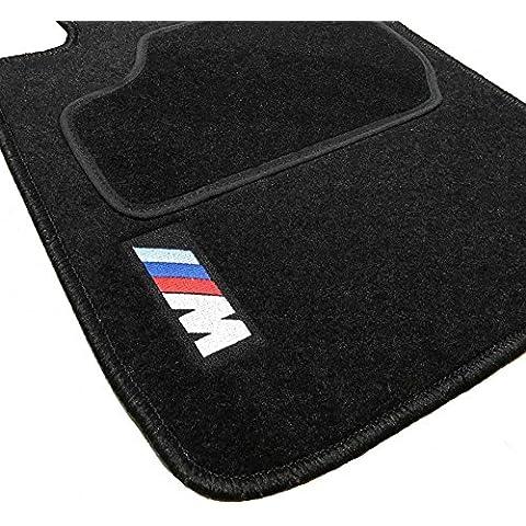 ZesfOr - Alfombrillas para BMW Serie 3 E90 / E91 / E92 acabado M (2005-2012) - 1183