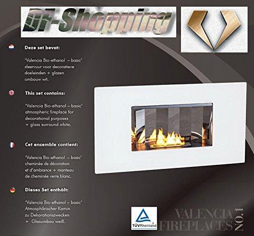 Etanol-Chimenea-elctrica-vollautomatische-Bandeja-de-combustible-Valencia-certificado-TV