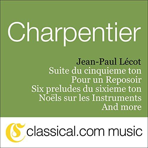 Suite du cinquieme ton - Overture de Médée H. 491-1