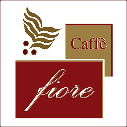 Lavazza A Modo Mio Compatibili Cialde Capsule CAFFE FIORE Miscela DECAFFEINATO di Qualità Superiore - Confezione da 100 Capsule