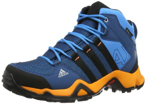 adidas Performance AX2 MID CP K Q22095 Jungen Outdoor Fitnessschuhe, Blau (Solar Blue2 S14/Black 1/Tribe Blue S14), EU 33 (UK 1)