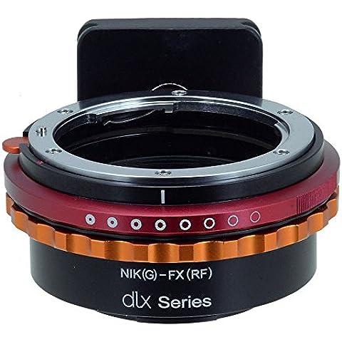 Fotodiox DLX Series adaptador, Nikon G Lens (including: AI, AI de S, AF de D, etc) to Fujifilm X Adaptador de Series Mirrorless Camera–Fits X de Mount Camera Bodies (Such AS X-Pro1, X-E1, X-M1, X-A1, X-E2, X-T1)
