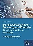 Betriebswirtschaftliche Steuerung und Kontrolle f. Wirtschaftsschulen Zweistufig: Jahrgangsstufe 11 - Lehrbuch
