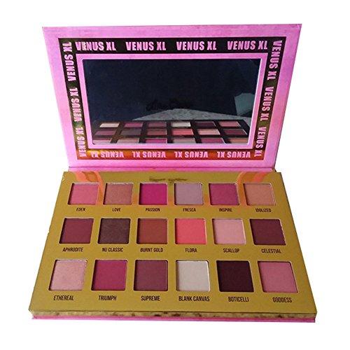 Sbarden Lidschatten Pink, 18 Farben Subculture Eyeshadow Palette Matte-Schimmer Palette Kräftige und helle Farben Regenbogen Farben Sammlung Lidschatten