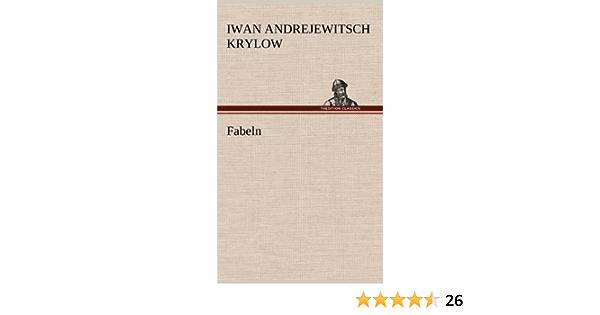 Fabeln Amazon De Krylow Iwan Andrejewitsch Bucher