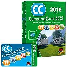 ACSI Camping Card 2018 + Ermäßigungskarte für die Vor- und Nachsaison