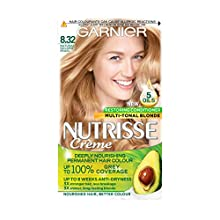 Garnier Nutrisse Crème Permanent Nourishing Hair Colour 8.32 Natural Gold Pearl