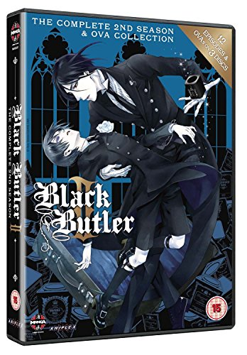 Black Butler - The Complete 2Nd Season (3 Dvd) [Edizione: Regno Unito] [Import italien]