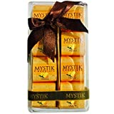 Mystik Premium - Orange In Milk Chocolate - Gift Wrap - Chocolate Box - 8 Pc