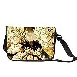 Siawasey Dragon Ball Z Anime Cosplay Messenger Bag Cross-Body Bag Tote Bag Handbag Shoulder Bag