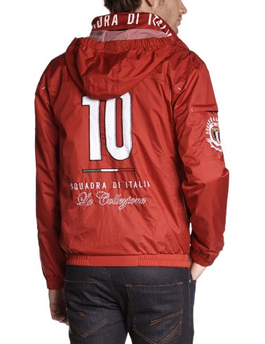 Geographical Norway Herren Jacke Sk011h/Gn Rot (Red)