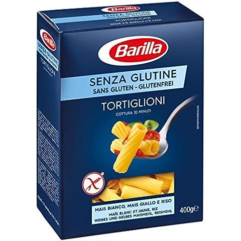 Barilla - Tortiglioni, Pasta Dietetica Senza Glutine - 400 G