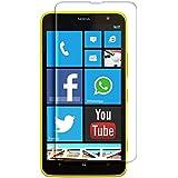 IPomcase - Protector de pantalla de vidrio templado para Nokia Lumia 1320, irrompible y antigolpes, transparente