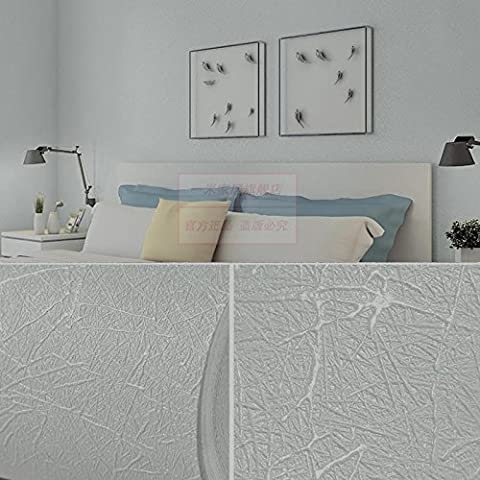 JSLCR Couleur unie en soie papier peint chambre salon moderne et simple 3D doux TV fond mur de papier peint,Vert de faible néerlandais