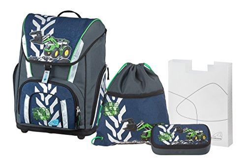 DerDieDas Flexible Seitentasche mit Reißverschluss für Trinkflasche (gängige Größe)