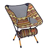 Indischer Campingstuhl Super Light Garden Stuhl Klappbarer Angel Stuhl Heavy Duty 150 Kg Kompakt, Tragbarer Outdoor-Sitz Mit Tote Tasche,Brown