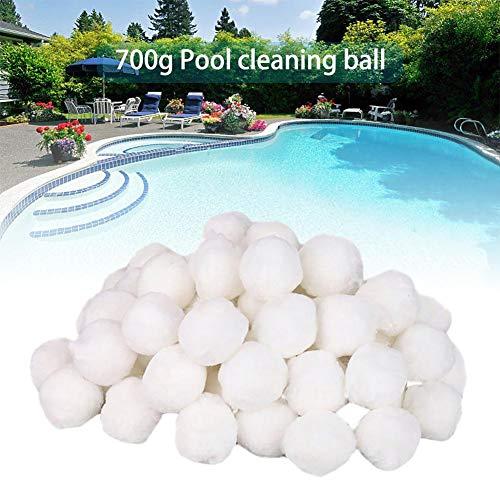 Wetour Filter Balls 700g Für Sandfilteranlage Filtermaterial Poolfilter, Pool Filterballs Für Sandfilter Alternativ, Pool Ausrüstung Reinigung