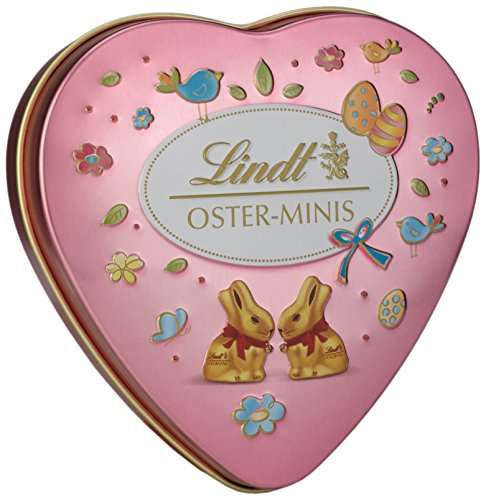Lindt & Sprüngli Ostergrüsse Metall Dose, 4er Pack (4 x 28 g)
