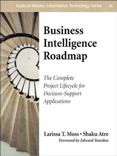 Business Intelligence Roadmap: The Complete Project Lifecycle for Decision-Support Applications (Addison-Wesley Information Technology Series) (English Edition) por Larissa T. Moss