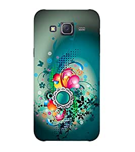 Doyen Creations Designer Printed High Quality Premium case Back Cover For Samsung Galaxy J3