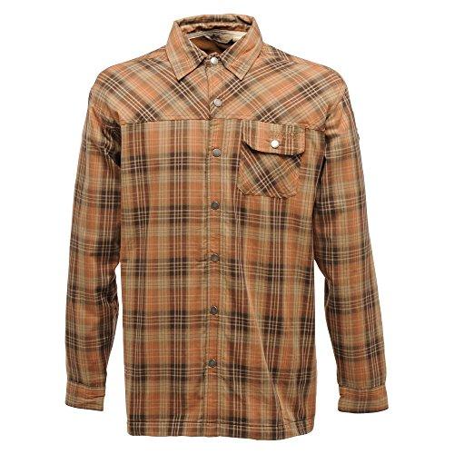 Regatta Taylar - Chemise à carreaux à manches longues - Homme Orange